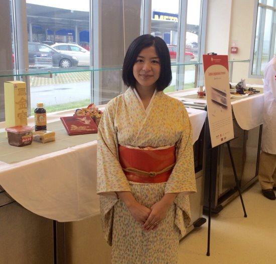Predstavljanje japanske hrane