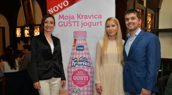 Irena Jovanović, Marija Malović PR Manager Imlek,Jovan Bugarčić Category Manager Imlek