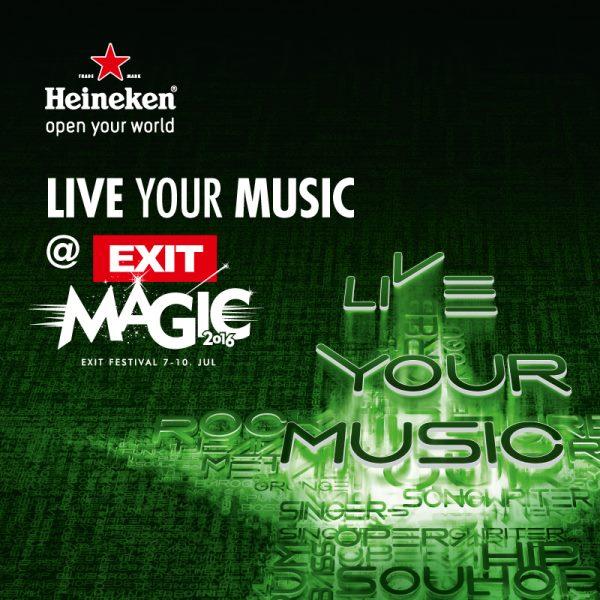 Heineken Exit live your music